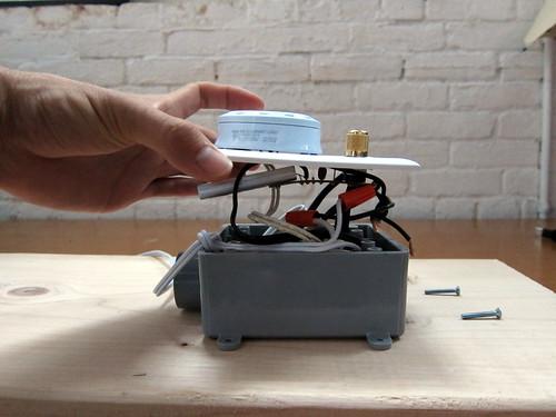 DIY Spectrometer: base wiring