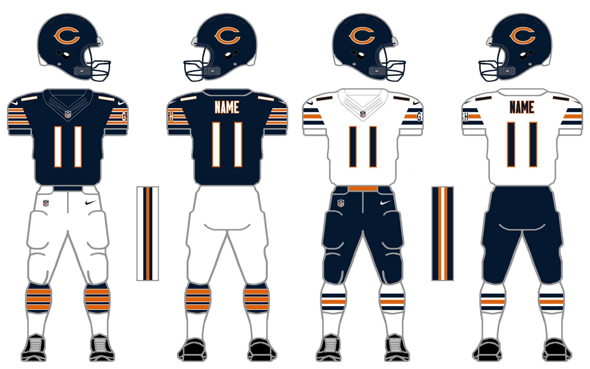 Chicago Bears  I m not gonna mess with perfection cc17ad357