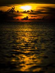 [フリー画像素材] 自然風景, 朝焼け・夕焼け, 海 ID:201209200600