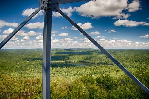 county sky newyork clouds forest landscape nikon firetower putnam d90 stateforest 18105mm ninhammountain