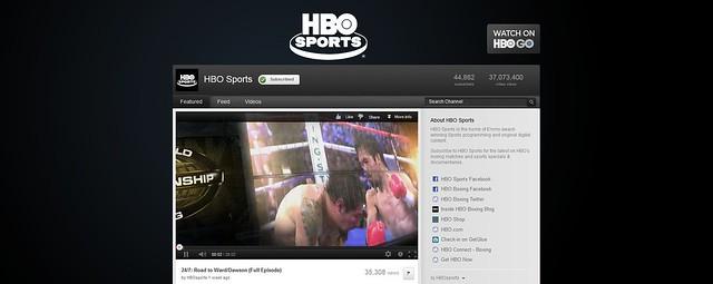 Fondo Canal YouTube Sports