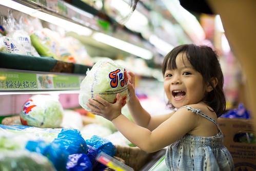 兒童與蔬菜。(圖片來源:台灣綠色和平)