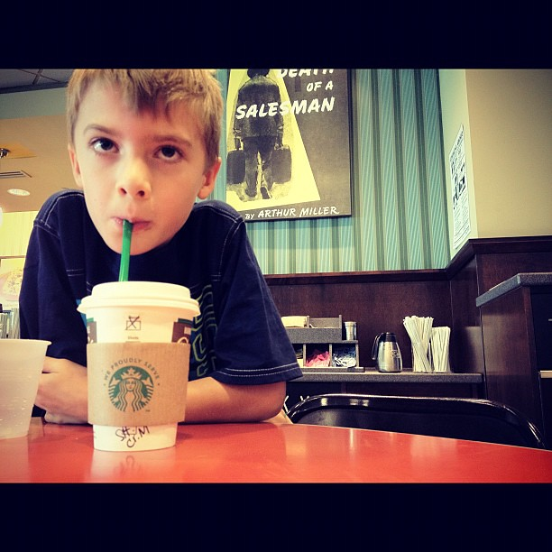 My children will share my addiction. #starbucks