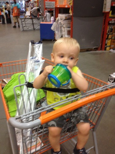 Hardware store with Mommy