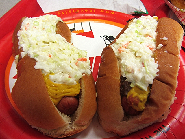 U Dogs Decatur Il Slaw Dog  the Varsity