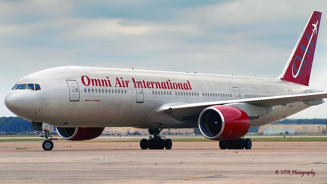 Boeing 777-200 - Omni Air International N916AX