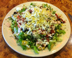 CHOPPED SALAD LOU'S COFFEE SHOP LOS GATOS CA.