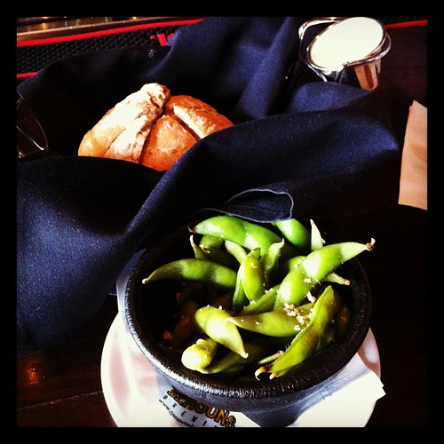 Sept. 16: Edamame & table bread brunch