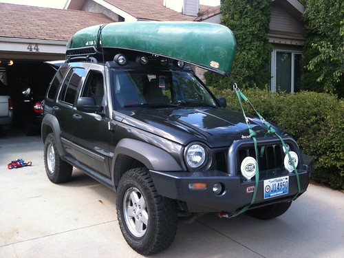 Where To Tie Down A Canoe Page 3 Jeep Renegade Forum