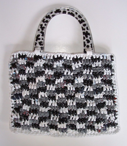 Gingham Plarn Purse