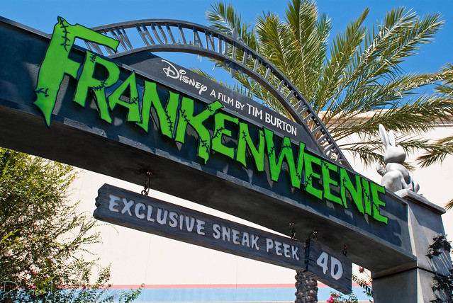Frankenweenie 4D Preview - Disney California Adventure