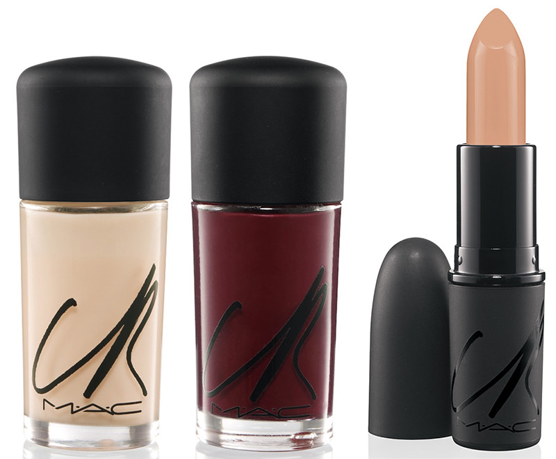 mac carine roitfeld lips & nails