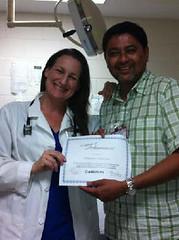 Santa Rita Corizon nurses recognized for efforts in HIV testing