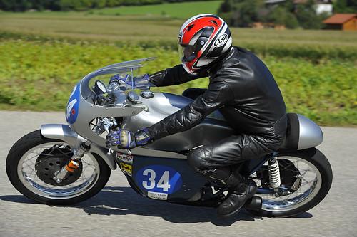 Ducati 350 Mk III 1968 Hautle classic motorcycle Oldtimer Grand Prix 2012 Schwanenstadt Austria Copyright B. Egger :: eu-moto images 1149