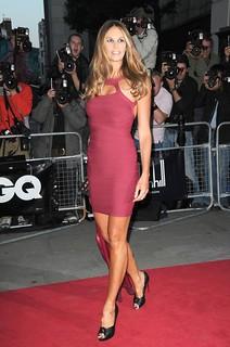 Elle Macpherson Bandage Dress Herve Leger Celebrity Style Women's Fashion
