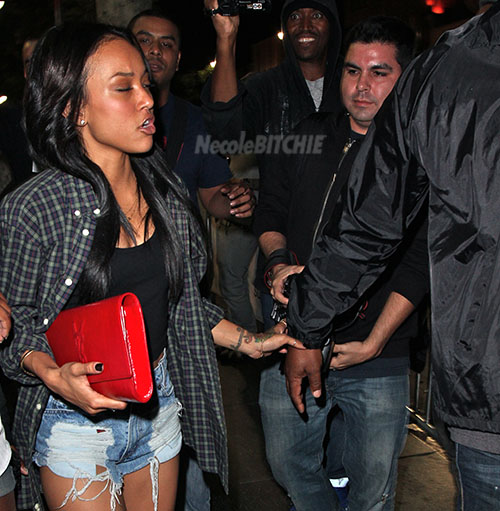 Karrueche-leaving-the-Supper-Club