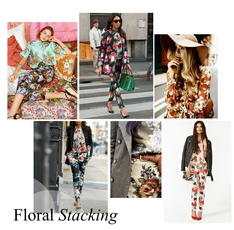 floral stacking