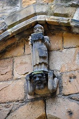 Little faces at Alnwick Castle