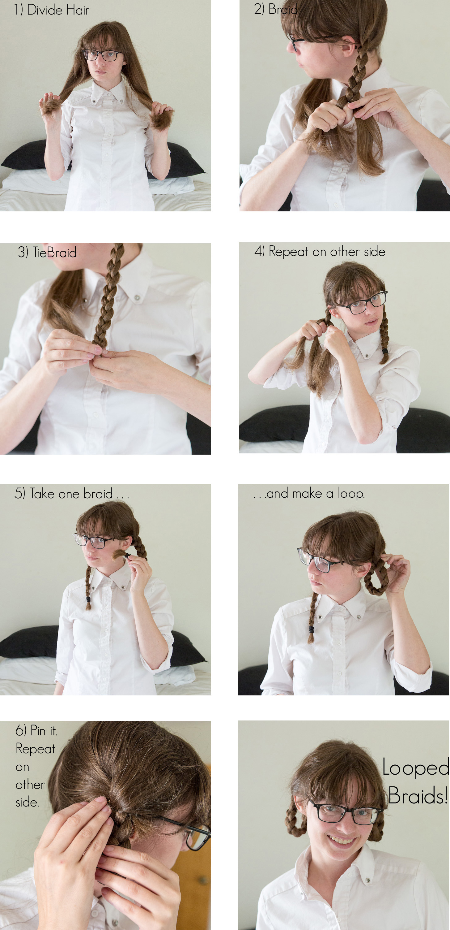 Looped Braids Instructions