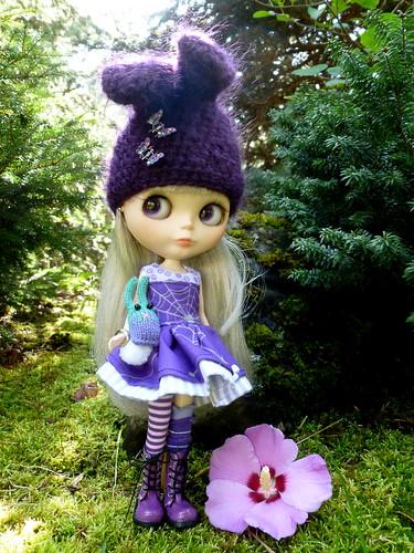 Blythe A Day September 21 ~ Purple