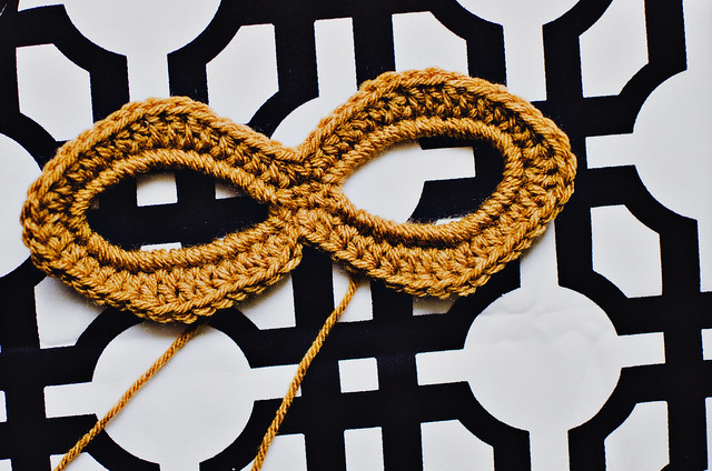 Crochet Simple Mask Goodknits A Knitting Crochet Blog