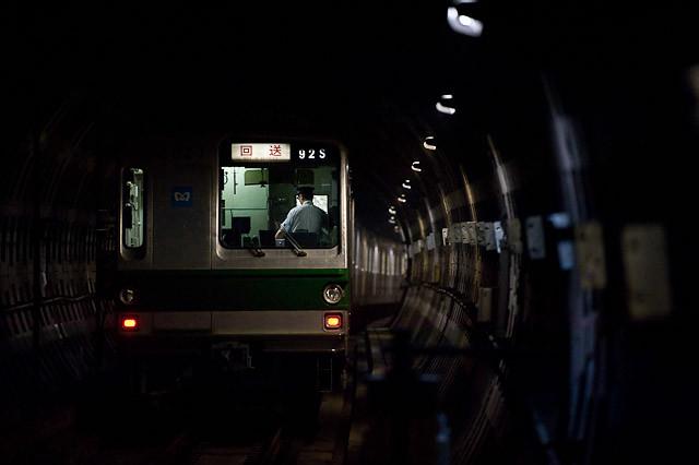 東京メトロ千代田線 6000系 6127F 廃車回送
