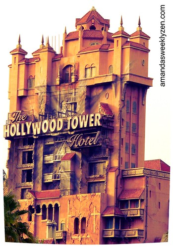 Hollywood Tower of Terror by Amanda's Weekly Zen