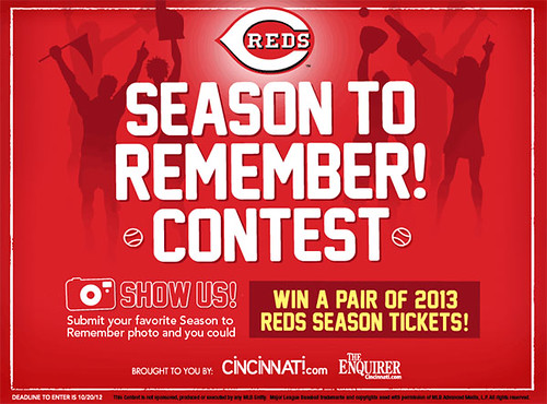 Reds Season to Remember contest