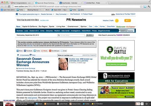 Protei Wins Savannah Ocean Exchange Protei