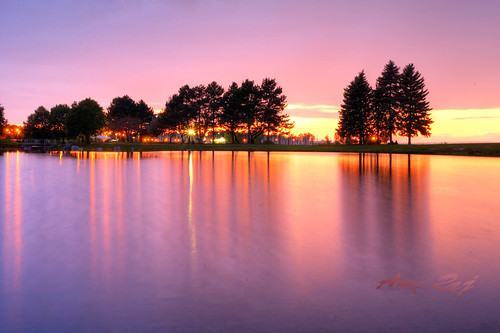 pink trees sunset summer sky sun ontario canada nature clouds digital canon reflections evening pond purple dusk bs ottawa violet silhouettes 5d nepean favoritespot starburt andrewhaydon mygearandme mygearandmepremium mygearandmebronze