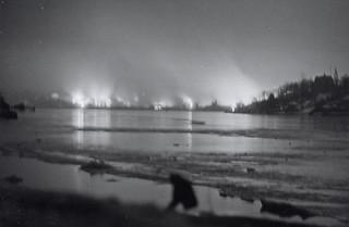 Filipstadulykken sett fra Frognerstranda (1943)