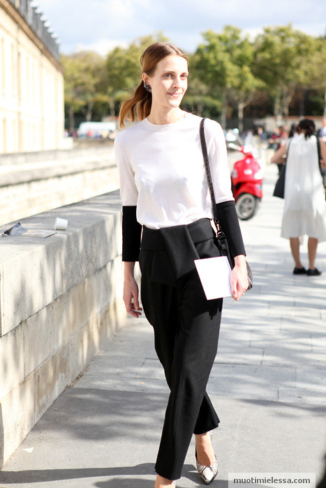 paris fashion week vanessa traina