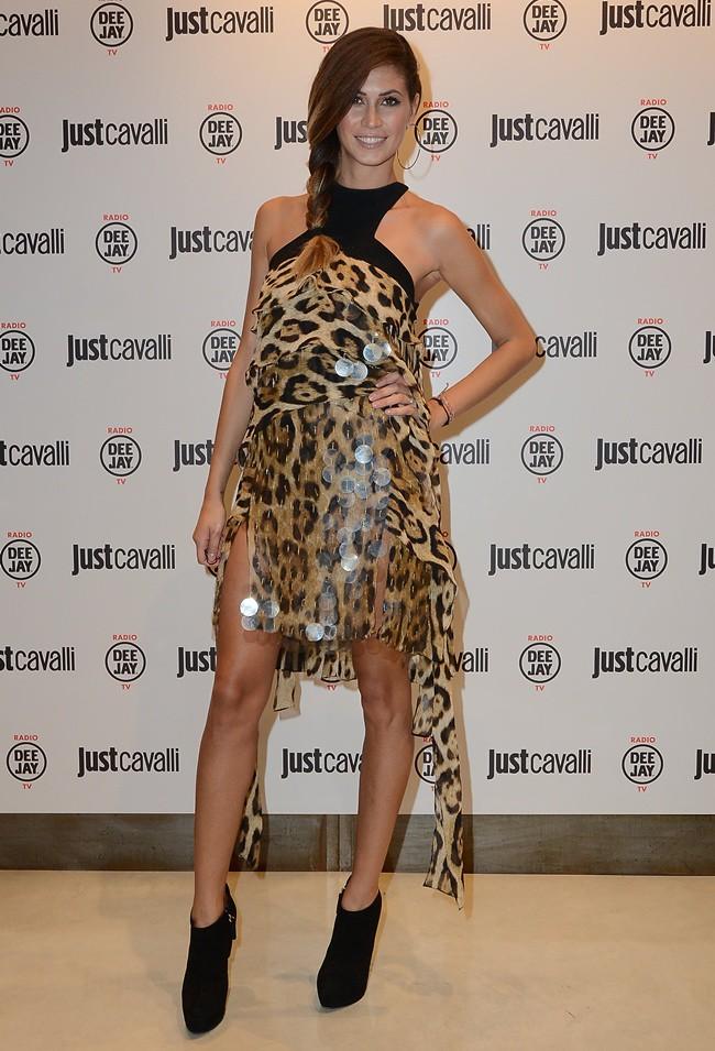 99 Melissa Satta in Just Cavalli @ Just Cavalli Boutique Opening 21-09-2012 Milan