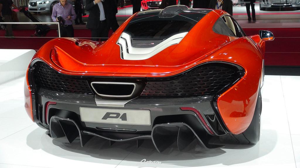 8034741988 b616c0af01 b eGarage Paris Motor Show McLaren Rear