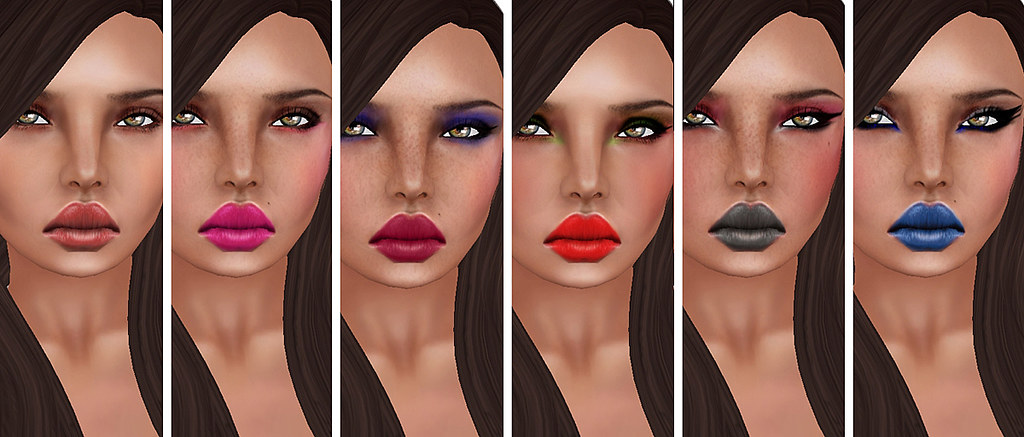 Reila Skins - Liya med make-up