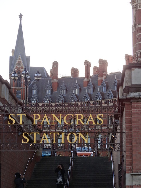 St. Pancras Station Sign