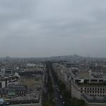 Looking out over Paris