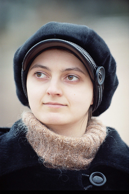 My wife - Olga
