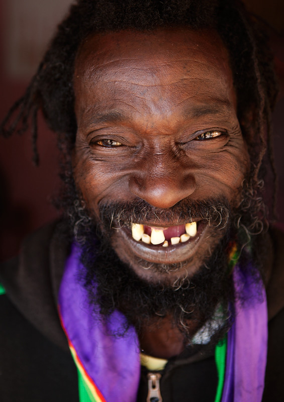 Messed Up Makeup: Black Guy With Messed Up Teeth