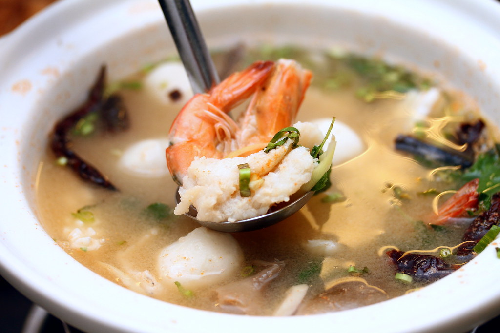 Thai Gold Food: Tom Yam Talay