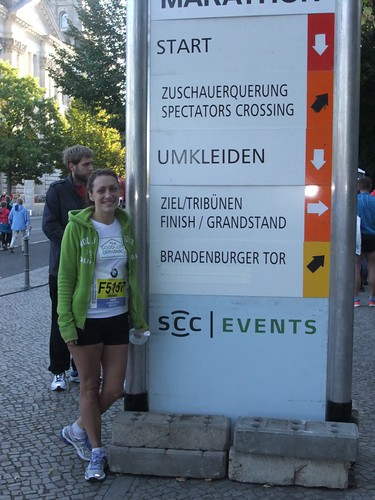 The Berlin Marathon Sunday 30th September 2012