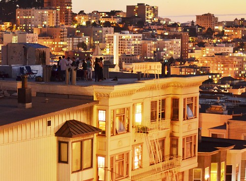 Russian Hill Views: The Night