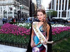 La Reina de la Vendimia viajó a cinco países desde que fue coronada, en marzo