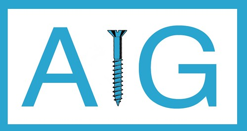 AIG UNVEILS NEW LOGO by Colonel Flick