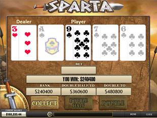 Sparta Gamble Feature