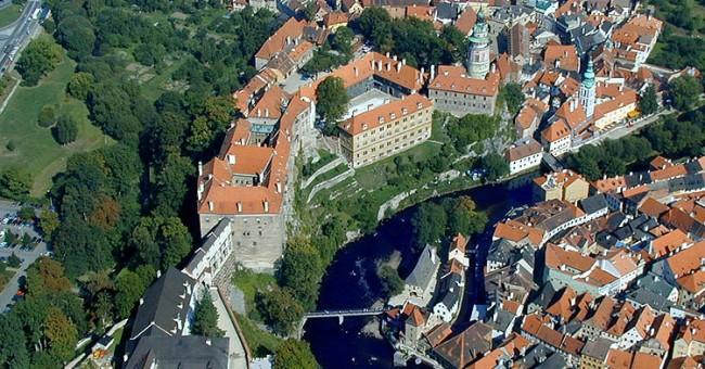 Světové dědictví UNESCO 2012 v Českém Krumlově