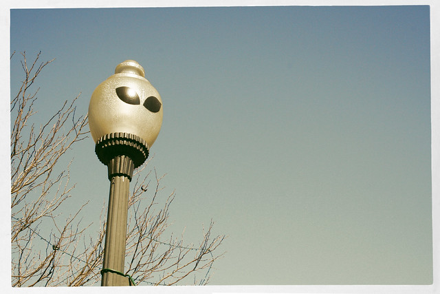 Roswell, New Mexico Street Lamp
