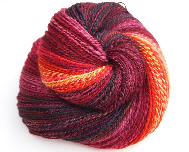 Corgi Hill Farms-sample yarn-570yds-2-ply