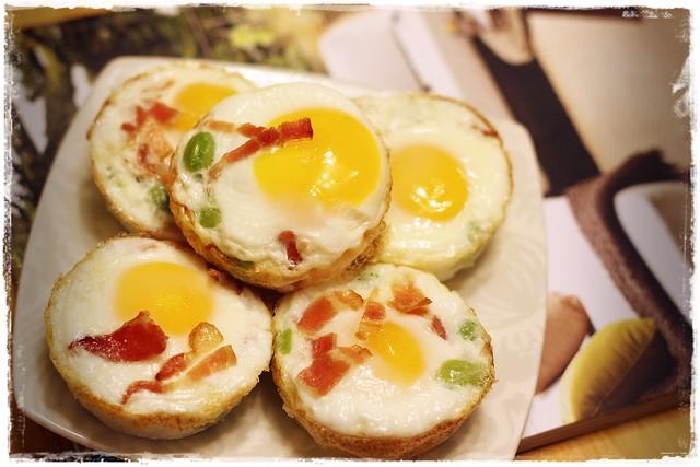 早餐新運動- 8分熟烤雞蛋 oven baked egg 5
