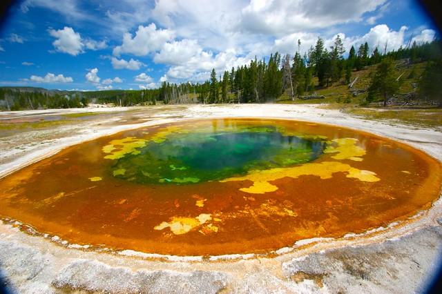 Beauty Pool, Upper Geyser Basin, Yellowstone National Park, WY